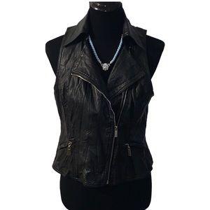 Bebe Black Vegan 🌱 moto jacket